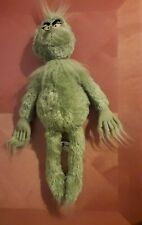 "UNIVERSAL STUDIOS DR. SEUSS THE GRINCH PLUSH TOY STUFFED 19"" MR. GREEN"