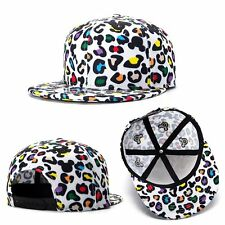 Leopard Trend Men's Snapback Adjustable Baseball Cap Hip Hop Hat HOT