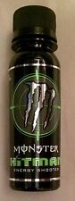 2009 MONSTER Hitman Energy Shot Shooter Drink Full 3oz Rare Base Expiration Date