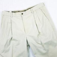 DOCKERS Mens Slack Sze  38X 29 Khakis Frontt Pleated Dress Casual Pants Slack