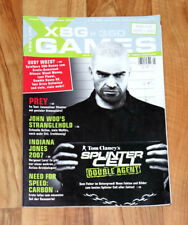 2006 Xbox Magazine Tom Clancy's Splinter Cell Double Agent Hitman Blood Money