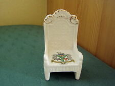 Twickenham Middlesex Trono SEDIA-Coronet Crested China