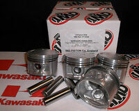 KAWASAKI KZ650 Z650 PISTON KITS  (4) NEW +1.00mm OVERSIZE KiR