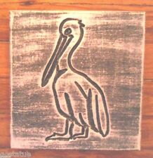 gostatue Mold Pelican stepping stone heavy duty plastic mold