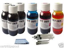 6x4oz Refill Ink for Kodak 30 1550532 1341080 ESP C310 C315 Office 2150 3BK+3C