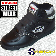 Vision Street Wear MS17000 Skate Zapatos-UK 6/7 Usa - 80s Original