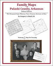 Family Maps Pulaski County Arkansas Genealogy AR Plat