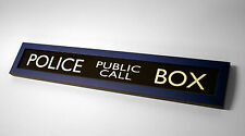 Doctor Who TARDIS Police Box HANDMADE Framed Sign