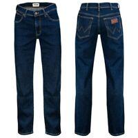 Wrangler Texas Stretch STORM BREAK Herren Jeans NEUE WASCHUNG 2020 dunkelblau