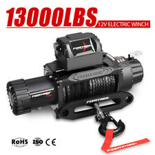 12V Wireless Electric Winch 13000LBS / 5909kg Synthetic Rope 4WD 12 Volt