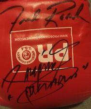 Lot of 2 MANNY PACQUIAO, FREDDIE ROACH AUTOGRAPHED BOXING GLOVES lot of 2