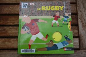 Le Rugby, französisches Bilderbuch über Regeln, Spielidee, mit Klappen