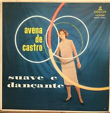 Avena de Castro Suave e Dancante Cool Brazilian Hula Hoop Cover Odeon LP 1958