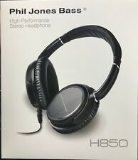 Phil Jones Bass - H-850 - High Performance Guitar Stereo Headphones - Black