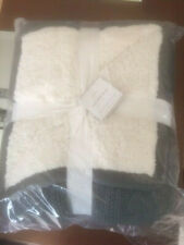 Pottery Barn Cozy Cable Throw - Flagstone Gray - Brand New in Package