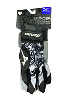 Mizuno Thunder Batting Gloves Brand New Black/White Various Sizes