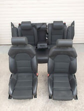 Audi A4 8E B7 Limosine Sitze Ledersitze S-Line Teilleder Sportsitze Leder