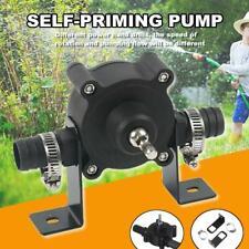 Hand Electric Drill Drive Self Priming Pump Oil Fluid Water Transfer Pumps