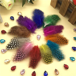 100Pcs 11 Colors Natural Pearl Feathers 1.18-2.76inch/3-7cm carnival Diy costume