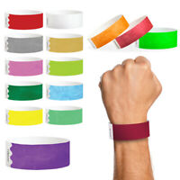 Plain Paper Wristbands Tyvek Security Birthday Party Hen Entry Event Ticket Stag