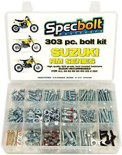 Bolt Kit Factory Suzuki RM60 RM65 RM80 RM85 RM125 RM250 FREE TOP END KIT -L
