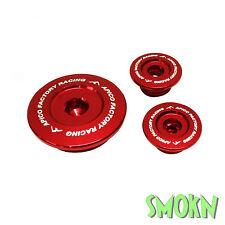 apico MOTEUR Inspection Bougies Honda CRF 250 R 04-09 CRF 250 X 04-18 Rouge