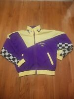 Rare Vintage Camel Joe Racing Jacket Smokin' Joe's Racing Hooded Jacket Size Lg