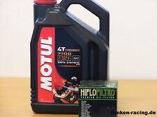 Motul Öl 7100 20W50 / ChromÖlfilter Harley XL1200X Sportster Forty-Eight ab 10