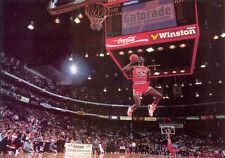 "Michael Jordan Basketball Star  Fabric Poster 20"" x 13"" Decor 01"