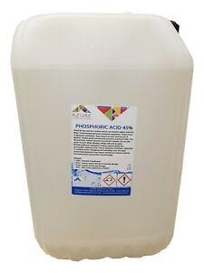 Azure Phosphoric Acid 45% Descaler Rust Remover Safe on Metal Surfaces - 25L