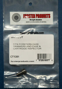 Forster Case Trimmer Pilot .351 (CT1351)-NEW in Package