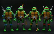 4PCS SDCC TMNT Teenage Mutant Ninja Turtles LOOSE 7 Inch 2016 Figure