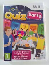 Jeu pour console WII et WII U   Nintendo : QUIZ PARTY