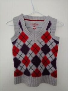 Boys Wool Jumper Vest Sleeveless East West Wooly Thick Comfort 4-6 Years Kids