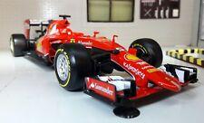 1:24 Scale Red Ferrari SF15-T 2015 Season Vettel F1 Burago V Detailed Model Car