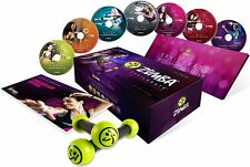 Zumba Exhilarate 7 DVD Set +Toning Sticks -Get Fit in 2020 -Home Dance Fitness!
