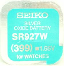 Seiko 399 (SR927W) óxido de plata (0%Hg) Sin Mercurio Pila Reloj Hecho en Japón