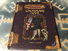 Exemplars Of Evil ~ Dungeons & Dragons 3.0/3.5 ~ D20 ~ Wizards Of The Coast