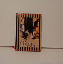 Journal Notebook Colorful Diary Cat Kitten Paris Hard Cover Marcel Schurman