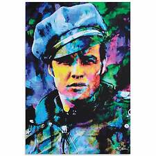 Pop Art 'Marlon Brando Whadda Ya Got' - Ltd. Ed. Giclee on Metal