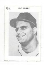 1969 Milton Bradley MLB Game Joe Torre Game Card