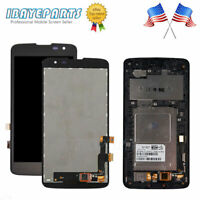 LCD Display Touch Screen For LG K7 Tribute 5 Digitizer Frame LS675 K330 MS330