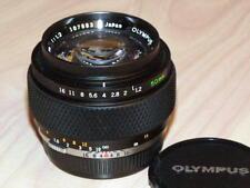 OLYMPUS OM ZUIKO 50mm F1.2 LENS