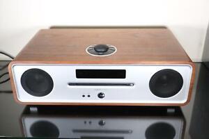Ruark R4 MKIII Integrated Music System -Walnut-CD / DAB, DAB+ and FM /Bluetooth