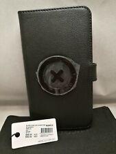 Mimco Supernatural Flip Leather Case for iphone 7 Plus - Black