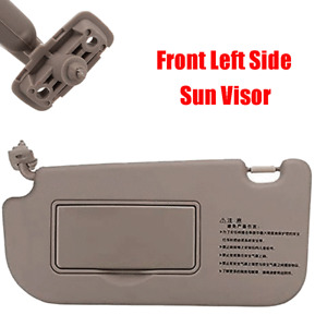 For 05-10 Kia Sportage Front Left Driver Side Sun Visor with Makeup Mirror Beige