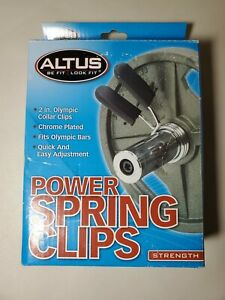 Altus Power Spring Clips (Pack Of 2)