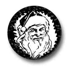 Father Christmas 1 Inch / 25mm Pin Button Badge Vintage Xmas Festive Saint Nick