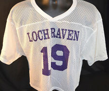Vtg LOCH RAVEN HIGH Lacrosse Jersey TOWSON BALTIMORE MARYLAND SCHOOL Rare LAX
