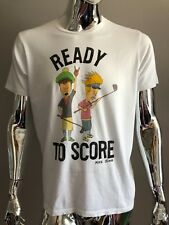 Junk Food READY TO SCORE WHITE COLOR T-SHIRT Size M